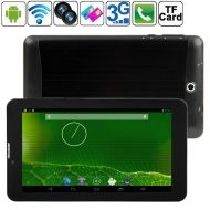 HSD-7051, 7  HD, Android 4.2.2, Tablet PC con 3G / 2G y función teléfono, Dual SIM, 512MB RAM + 4GB Flash,  Dual Core 2