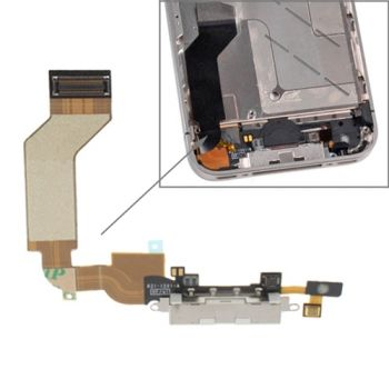 Cable Flexible Conector de Carga para iPhone 4