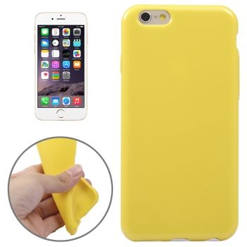 Funda TPU de Colores Puros para iPhone-6-Plus