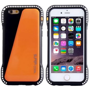 Armadura antigolpes de PC y TPU para iPhone-6