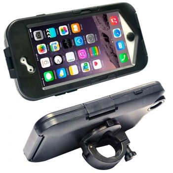 Funda de pl�stico ABS bicicleta para iPhone-6