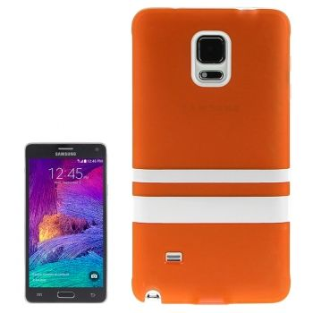 Funda TPU estilo Fresh para Galaxy Note-4