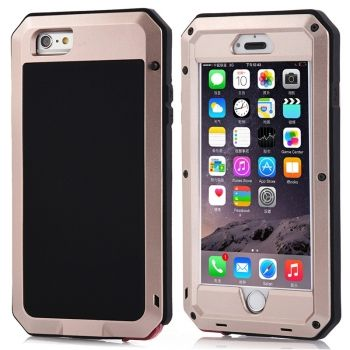 Funda Armour de metal resistente a golpes, Waterproof y antipolvo para iPhone-6-Plus