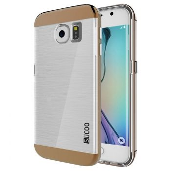 Funda Slicoo estilo Electroplating para Galaxy-S6 Edge / G925