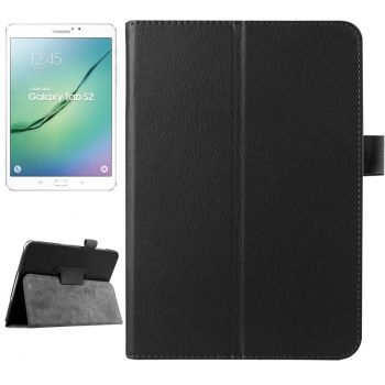Funda CrossTex de Piel con Smart Cover para Samsung Galaxy Tab S2 8.0