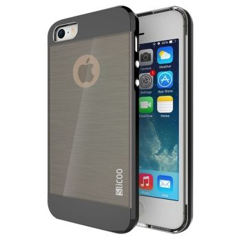 Funda SLiCOO Combinada de TPU para iPhone 5S