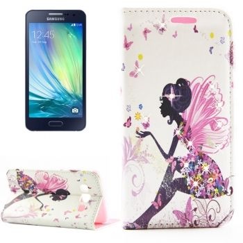 Funda de Piel Fashion Ladies CrossTex para Samsung Galaxy A3