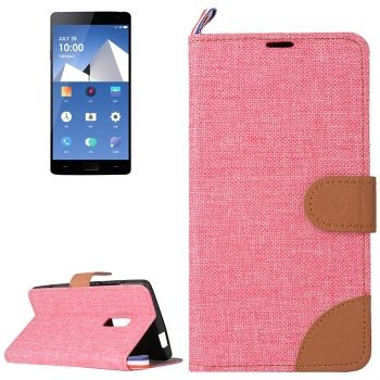 Funda de piel CrossTex serie Denim para OnePlus Two