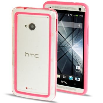 Funda de TPU + Plástico CrossTex para HTC One / M7