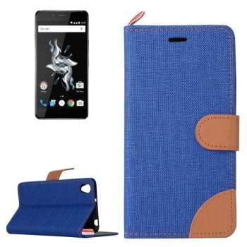 Funda de piel CrossTex con soporte para One Plus X