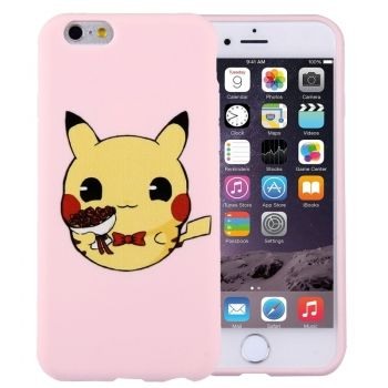 Funda TPU + silicona Crosstex serie Pikachu para iPhone 6 Plus / iPhone 6S Plus