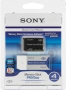 Sony Memory Stick Pro Duo 4GB