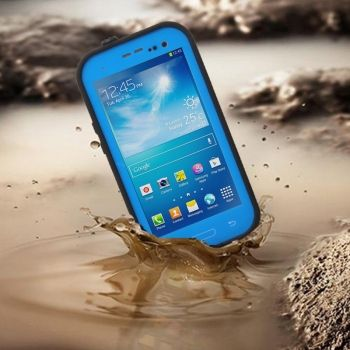 Funda impermeable de colores ultra fina Galaxy S4 / i9505