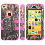 Funda de pl�stico y silicona estilo ca�as iPhone5C