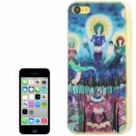 Funda de pl�stico QYG alta calidad estilo m�stico iPhone5C