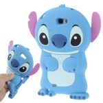 Funda de silicona estilo Stitch 3D Galaxy Note 2 / N7100