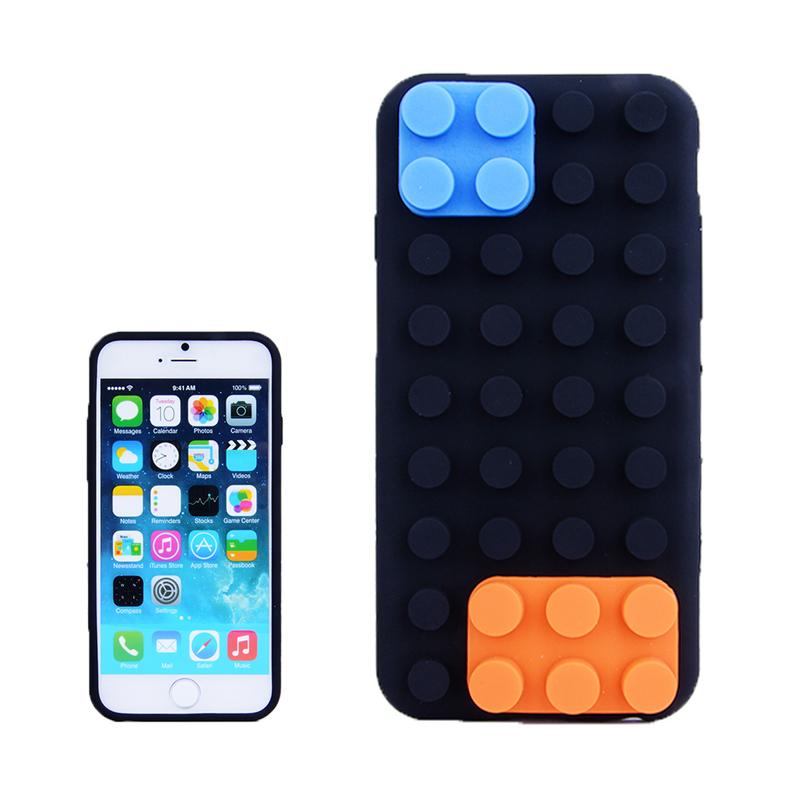 Funda silicona textura de bloques para iphone 6 - Textura fundas nordicas ...