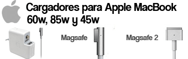Cargadores Magsafe Apple