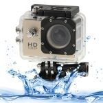 SJ4000 videocámara con Full HD 1080P y funda sumergible hasta 30m.Conmpatible GoPro