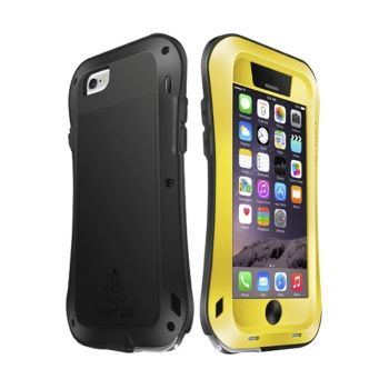 LOVE MEI Funda de Metal Ultra Fina Waterproof para iPhone-6-Plus