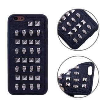 Funda TPU estilo RIVET con metal para iphone-6