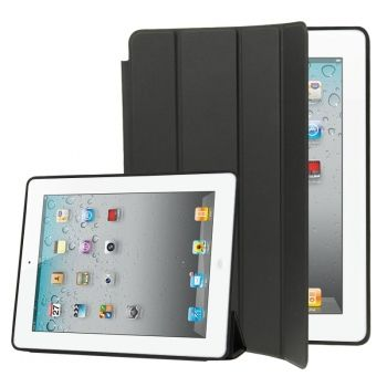 Funda Piel 4 Lamas como la original de apple con Smart Cover para iPad2 / iPad3 / iPad4