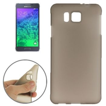 Funda TPU doble escarchado para Galaxy Alpha-G850F