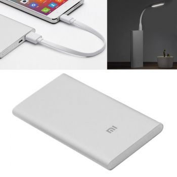 Power Bank Xiaomi 9.9 mm ultrafina 5000mAh