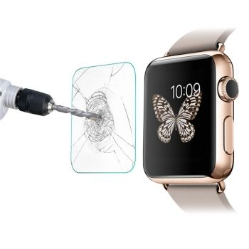Protector de pantalla 0.2mm de cristal templado para Apple Watch (42mm)