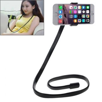 Soporte flexible para cuello con base para iPhone-6 / iPhone-6-Plus / Galaxy Note-4