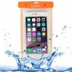 Funda Hjiemei Waterproof con asa para iPhone-6-Plus / iPhone-6 / Phone5 / iPhone5C