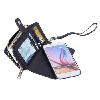 Funda 2 en 1 con cartera separable para Galaxy-S6