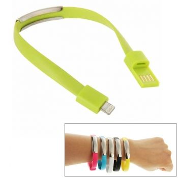 Cable Brazalete de 24cm, Cargador y sincronización para iPhone-6 / iPhone-6-Plus / iPhone5 / iPhone5C