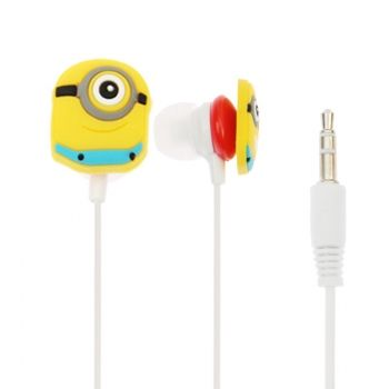 Auriculares Me Minions 3.5mm con clip