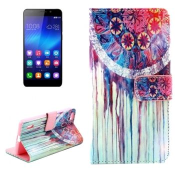 Funda Watercolour de Piel con soporte para Honor-6
