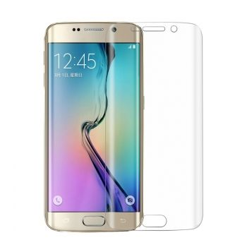 0.1mm Explosion-proof Soft TPU Full Screen Protector para Samsung Galaxy S6 Edge+