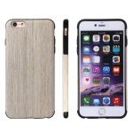 Funda piel y madera CrossTex serie Walnut para iPhone 6 / iPhone 6S
