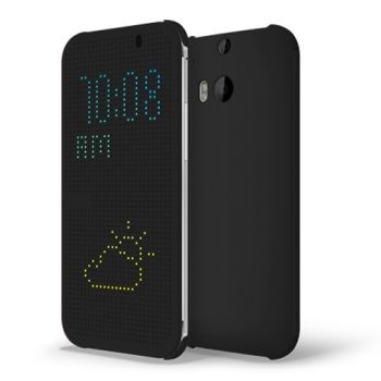 Funda CrossTex Dot View Smart Cover para HTC M8