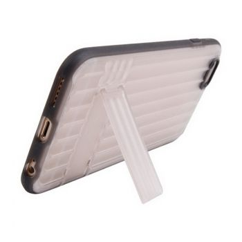 Funda protectora con soporte de plástico Crazy Stuff para iPhone 6 Plus y iPhone 6S Plus