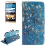 Funda de Piel con soporte y cartera CrossTex para HTC One M9