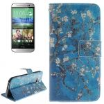 Funda de Piel con soporte y cartera CrossTex para HTC One M8