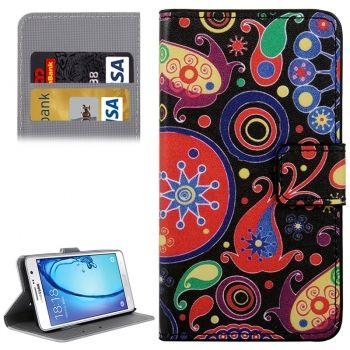 Funda Colirida con soporte y tarjetero CrossTex para Samsung Galaxy On5