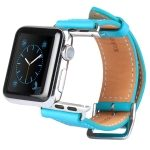 Correa de piel Kakapi serie Cow con conectores para Apple Watch 38mm