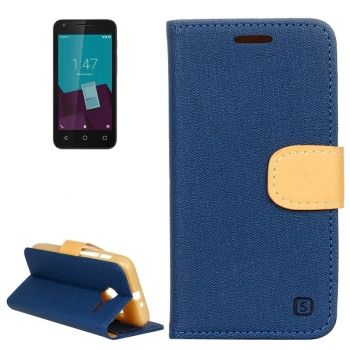 Funda de piel CrossTex serie Denim con soporte para Vodafone Smart Speed 6
