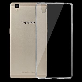 Funda TPU CrossTex transparente 0.75mm para OPPO R7s