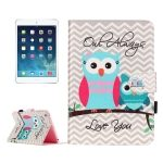 Funda de Piel Multicolor Crazy Stuff con soporte para iPad mini 1 / 2 y 3