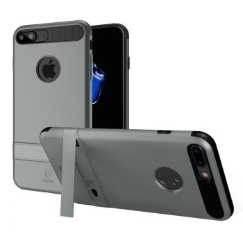 Funda protectora PC + TPU con soporte de Nappa para iPhone 7 Plus