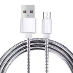 Cable CrossTex Micro USB a USB 2.0 Flexible metálico universal