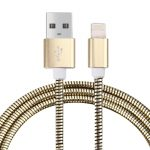 Cable CrossTex de USB a Lightning 8 pines metálico para iPhone / iPad Air / mini