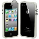 Funda TPU bumper iPhone4